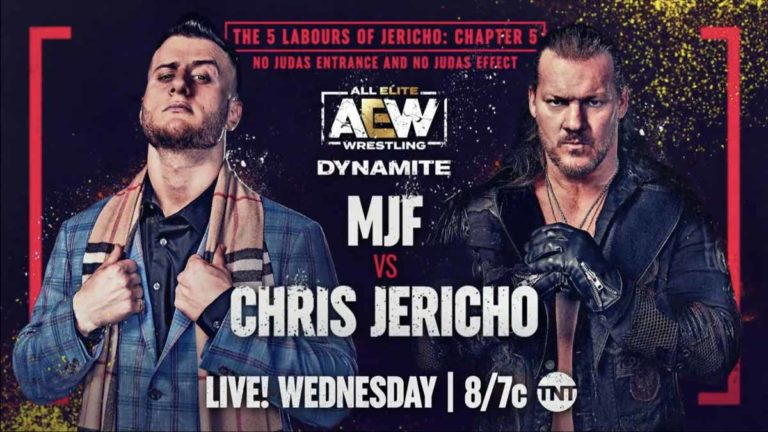 AEW Dynamite 18 August 2021- Results, Live Updates, Highlights- MJF v Jericho, Sting in Action