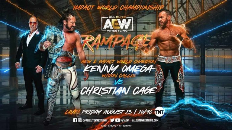 AEW Rampage Results 13 August 2021(Debut Episode): Omega vs Christian