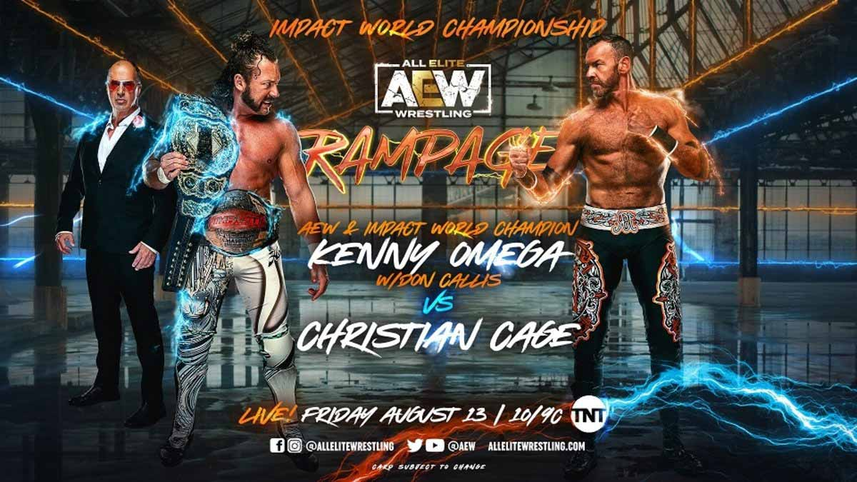 AEW Rampage 13 August 2021