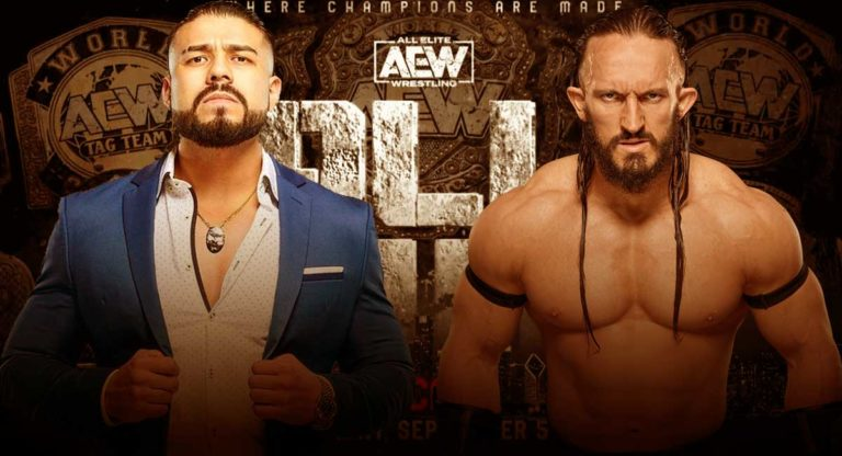 Pac Vs Andrade El Idolo No Longer Taking Place At AEW All Out