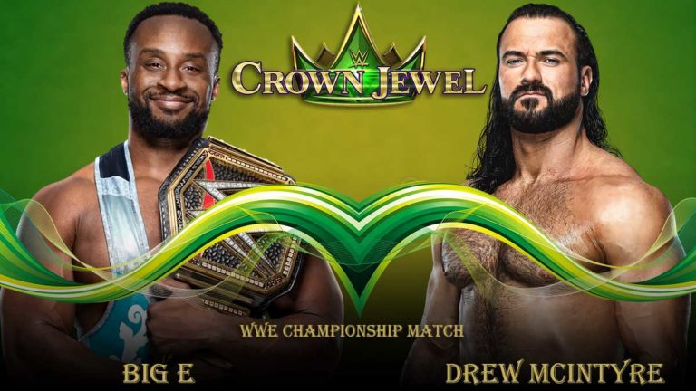 WWE Championship Match Announced for Crown Jewel