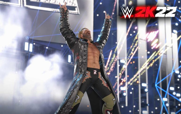 WWE 2K22 Unveils The First Look Of Edge With New Screenshots