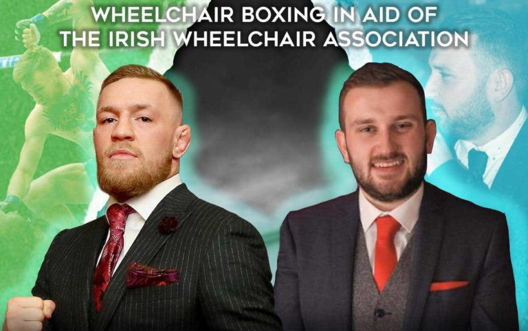 Conor McGregor To Appear in Wheelchair Boxing Match For Charity