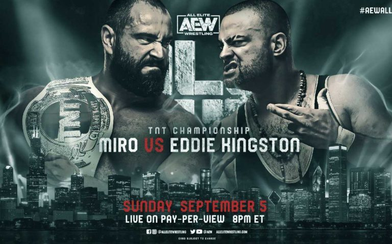 Eddie Kingston To Challenge Miro For AEW TNT Title At All Out