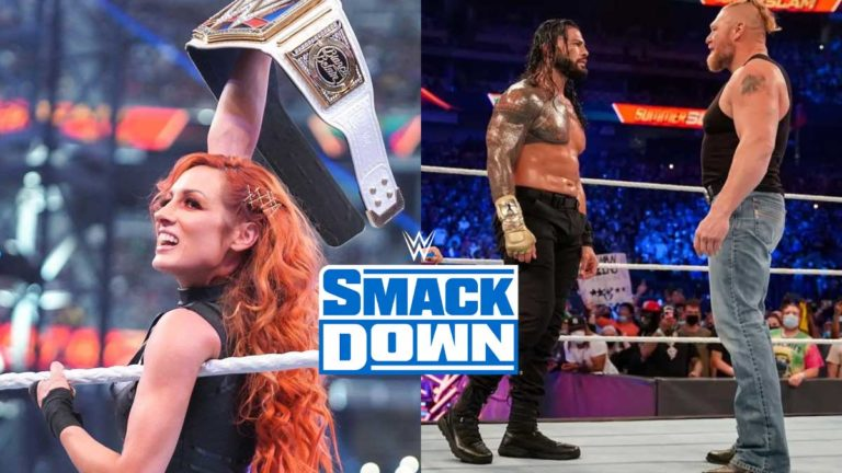 WWE SmackDown 27 August 2021- Results, Preview, Card, Location, Start Time- Becky & Brock