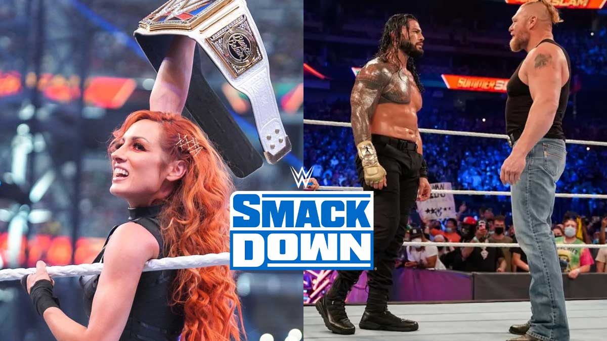 WWE SmackDown 27 August 2021
