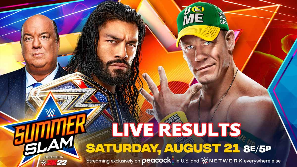 WWE SummerSlam 2021 Live Results