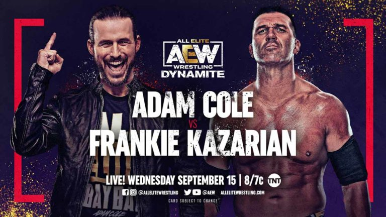 AEW Dynamite September 15, 2021- Live Results & Updates