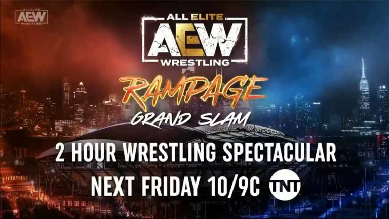 AEW Rampage Grand Slam 2021: Card, How To Watch, Tickets