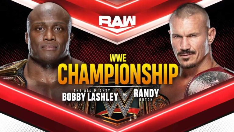 WWE Prepones WWE Championship Match for RAW September 13 Episode