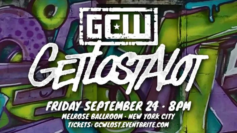 GCW Get Lost A Lot 2021- Card, How To Watch, Tickets