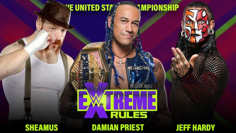 Jeff Hardy Added to US Title Match at WWE Extreme Rules