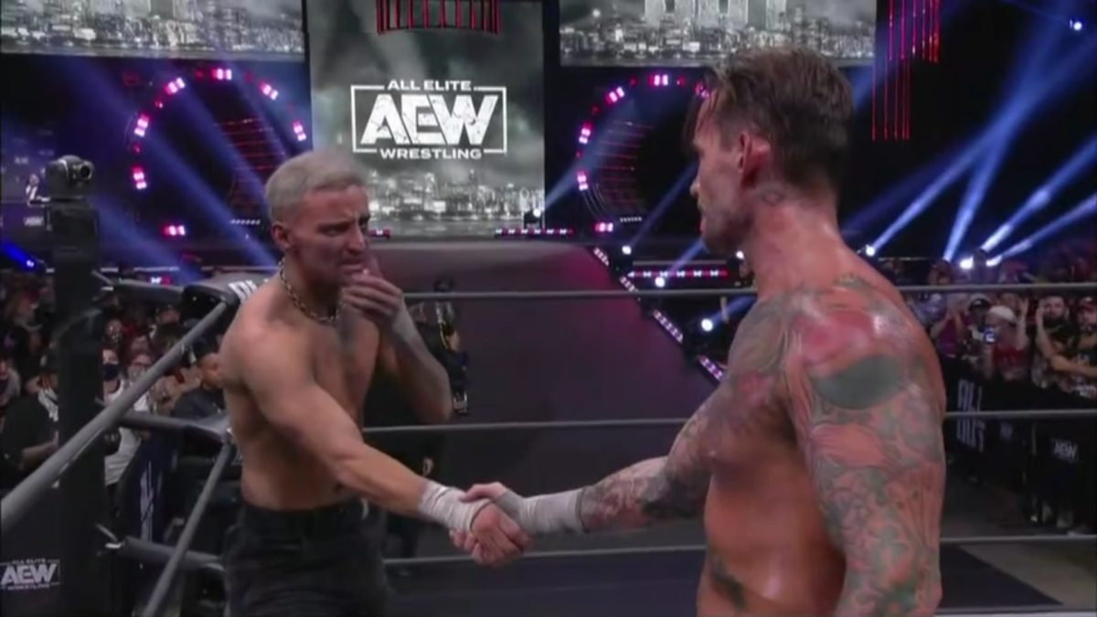 cm punk darby allin all out 2021