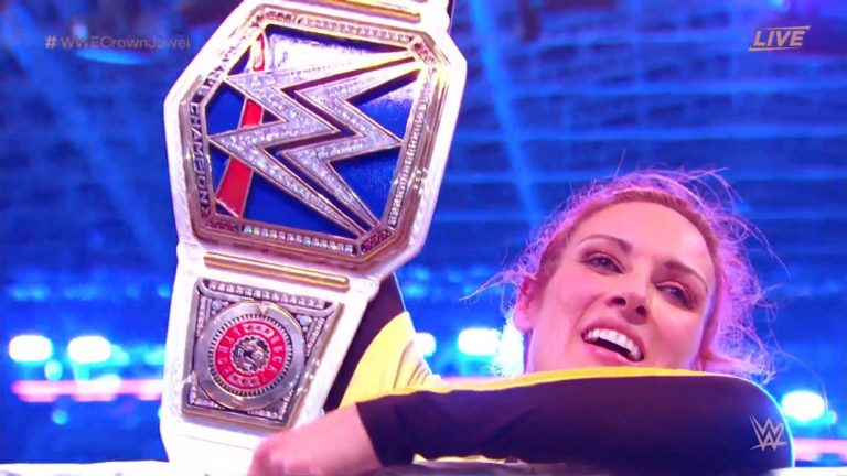 WWE Crown Jewel: Becky Lynch Retained SmackDown Women's Championship