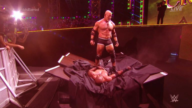 Goldberg Took His Revenge by Defeating Bobby Lashley at Crown Jewel
