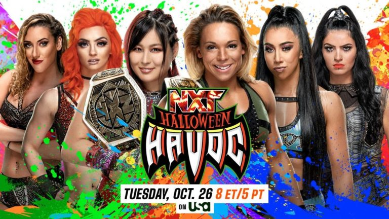 NXT Women's Tag Team Titles Match Announced for NXT Halloween Havoc
