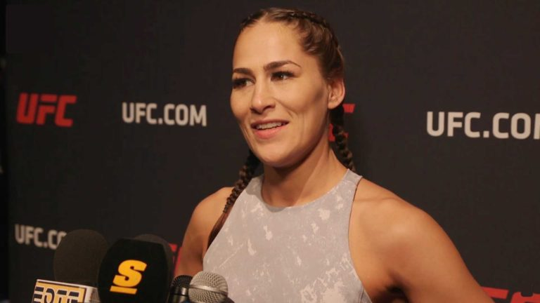 Jessica Eye Hospitalized, Might Not Compete at UFC Fight Night on Nov 13