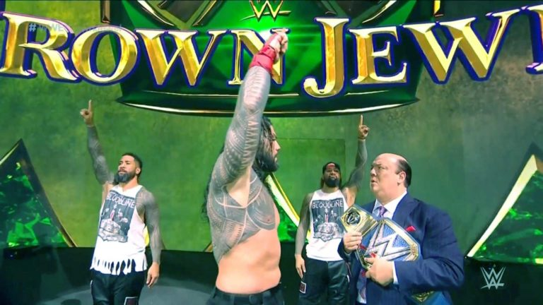 Roman Reigns Defeated Brock Lesnar in the Main Event of WWE Crown Jewel