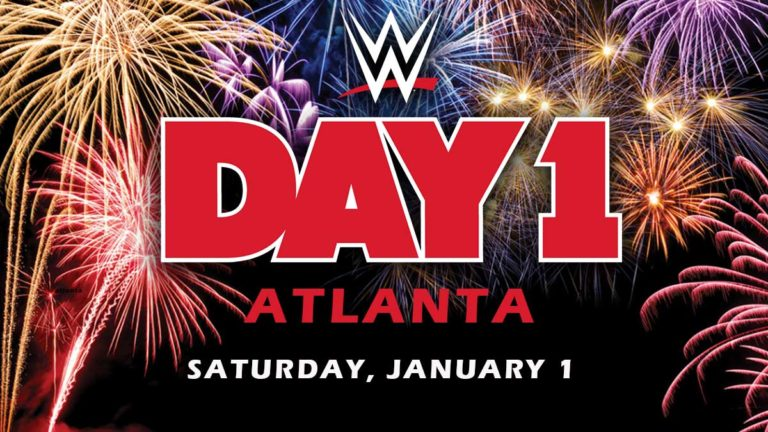 WWE DAY 1 POSTER