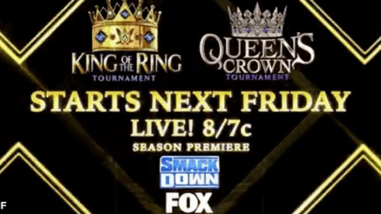 WWE Announced King of the Ring 2021 & Queen's Crown Tournament